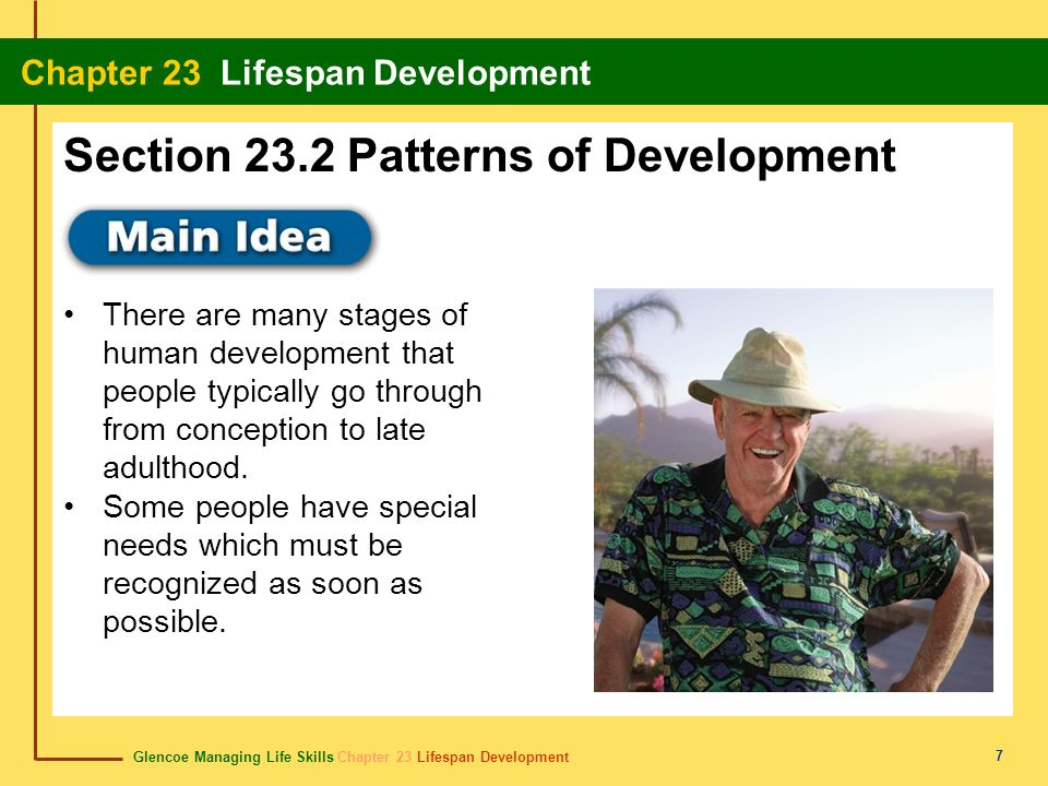 Section 23.2 Patterns of Development