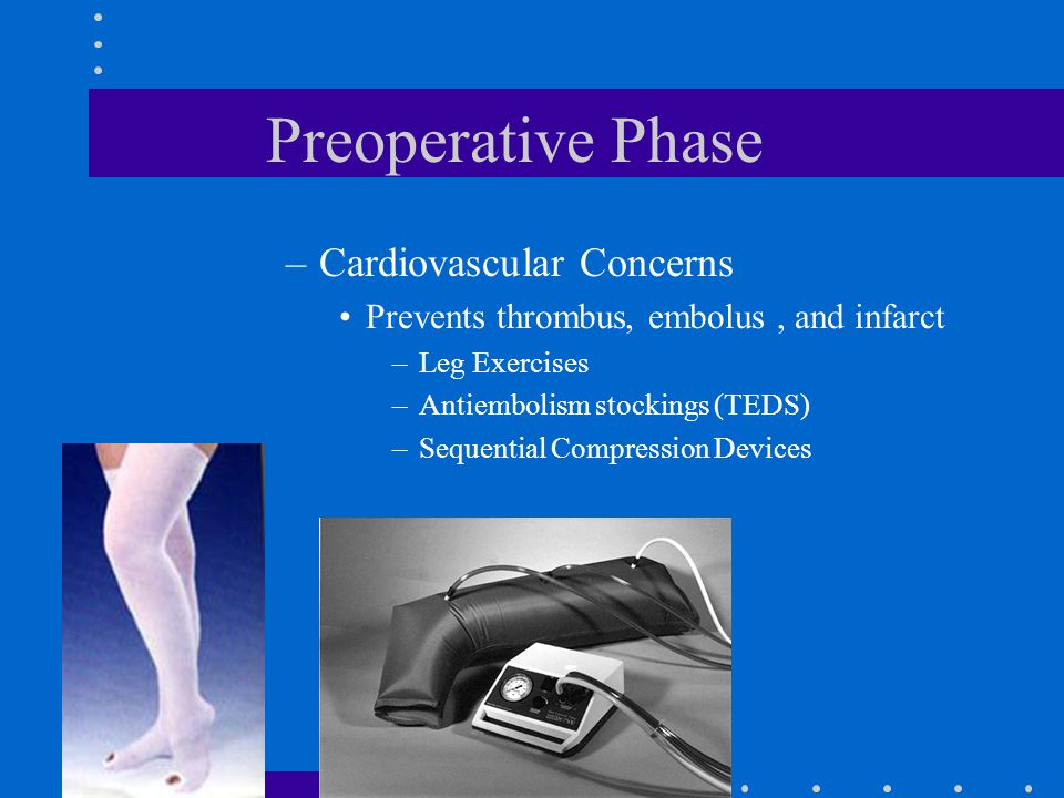 Preoperative Phase Cardiovascular Concerns