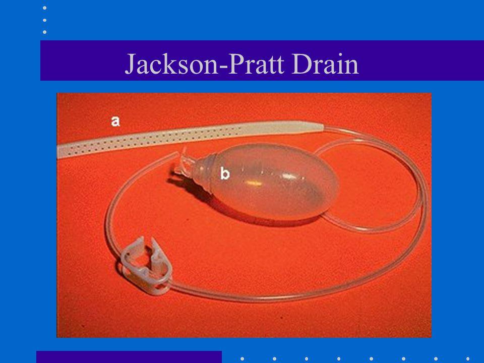 Jackson-Pratt Drain