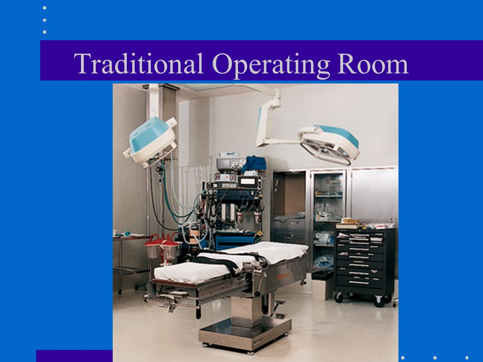 Traditional Operating Room