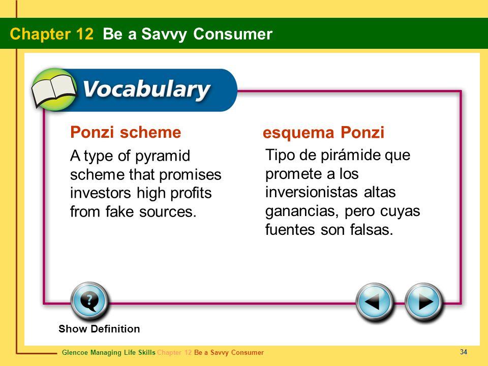 Ponzi scheme esquema Ponzi