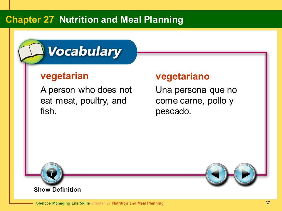 vegetarian vegetariano