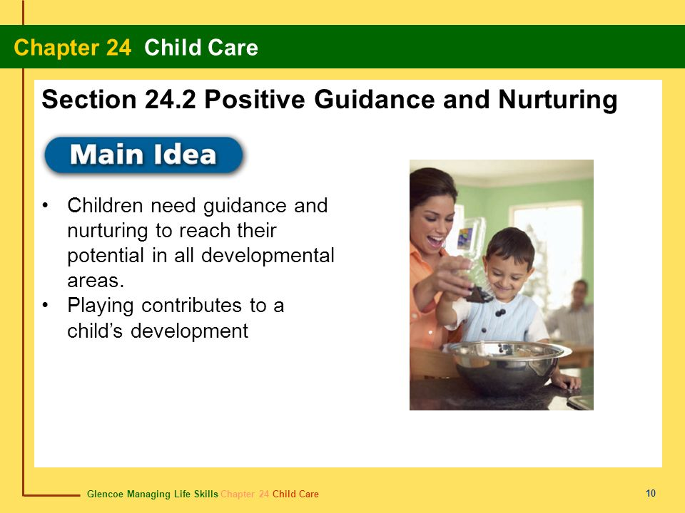 Section 24.2 Positive Guidance and Nurturing