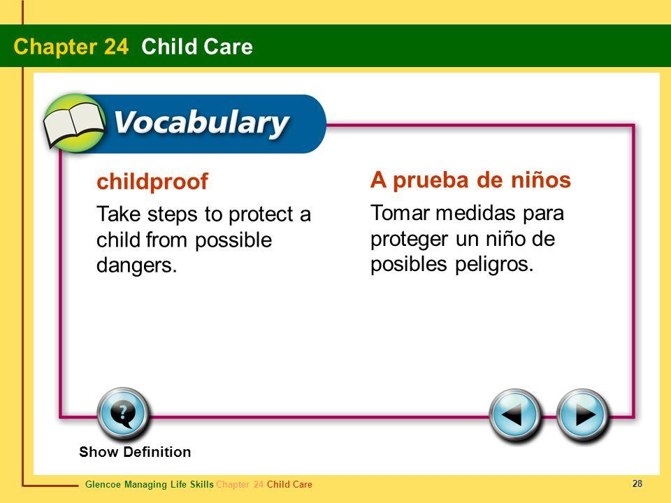 childproof A prueba de niños
