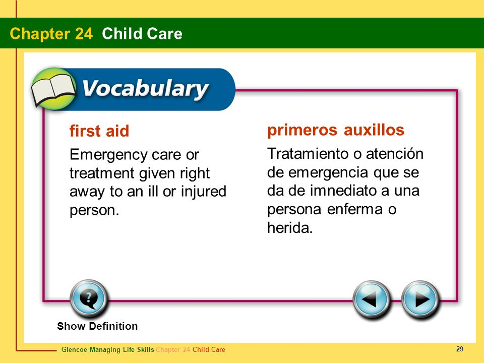 first aid primeros auxillos