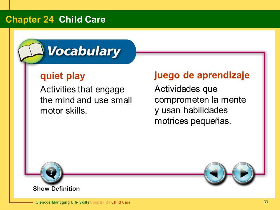 quiet play juego de aprendizaje
