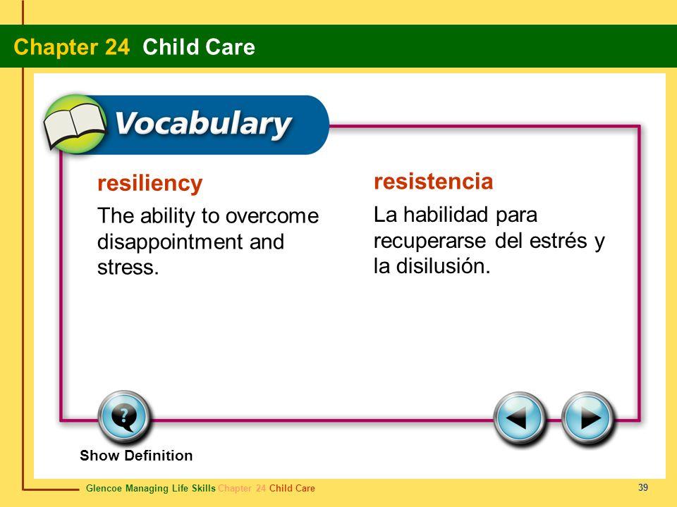 resiliency resistencia