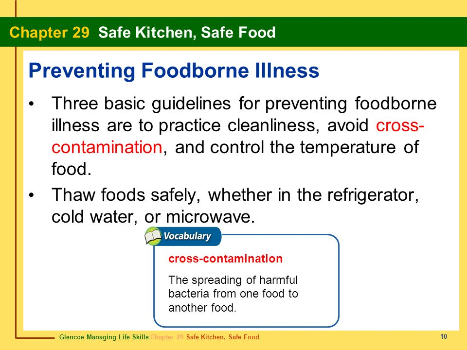 Preventing Foodborne Illness