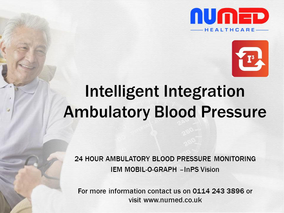 Intelligent Integration Ambulatory Blood Pressure