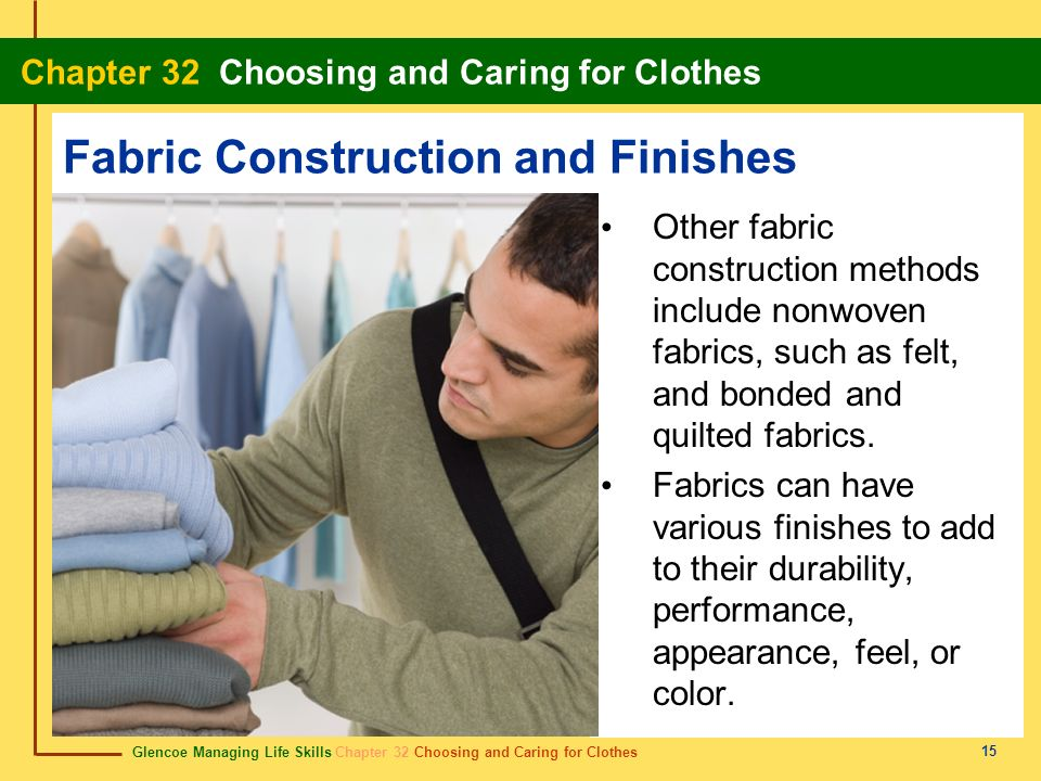 Fabric Construction and Finishes