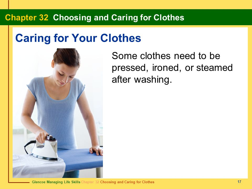 Caring for Your Clothes