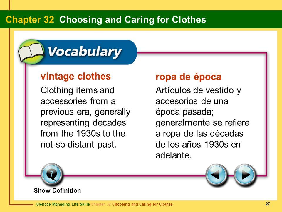 vintage clothes ropa de época