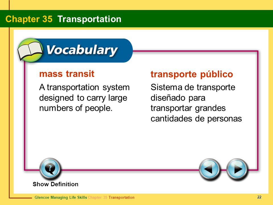 mass transit transporte público