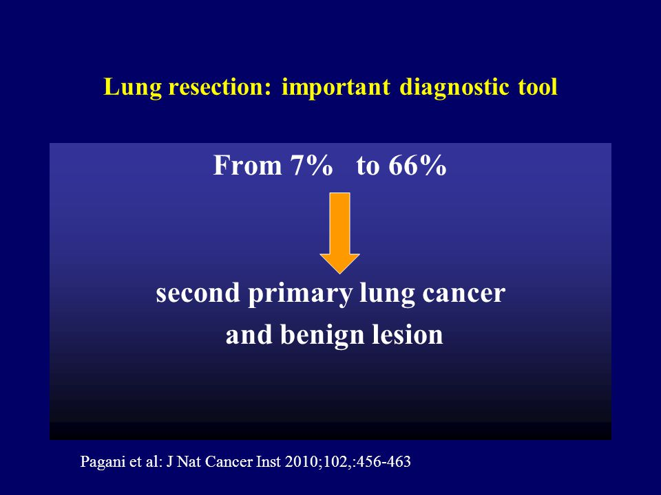 Lung resection: important diagnostic tool