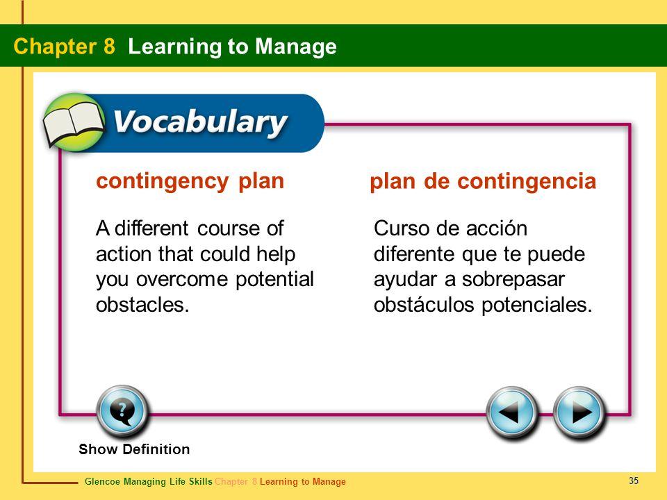 contingency plan plan de contingencia