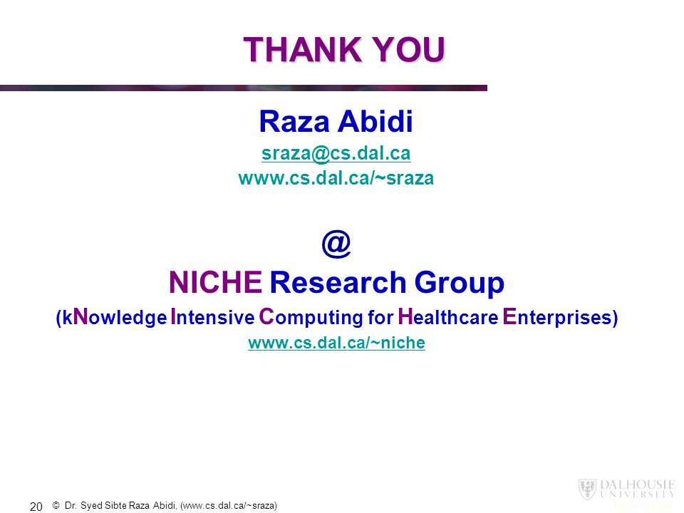 (kNowledge Intensive Computing for Healthcare Enterprises)