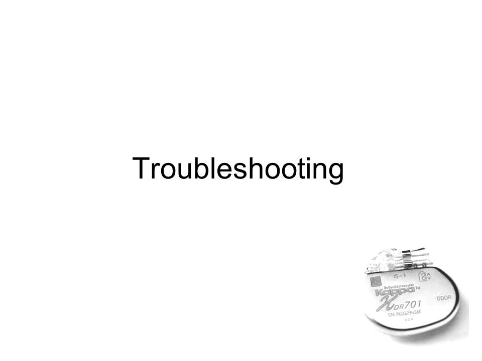 Troubleshooting صورة واحد ببندقية