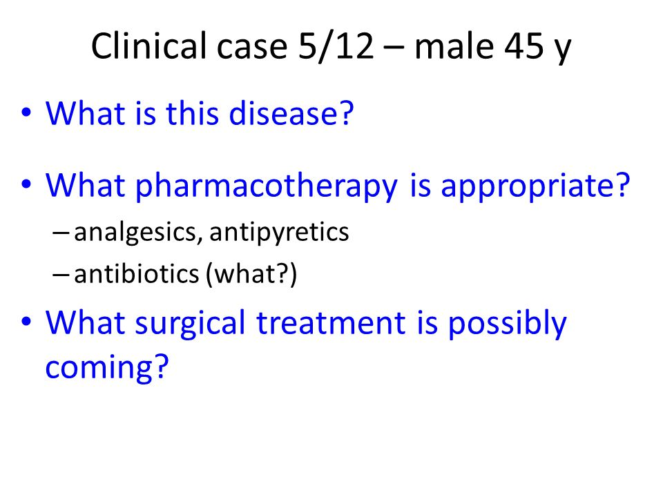 Clinical case 5/12 – male 45 y What is this disease