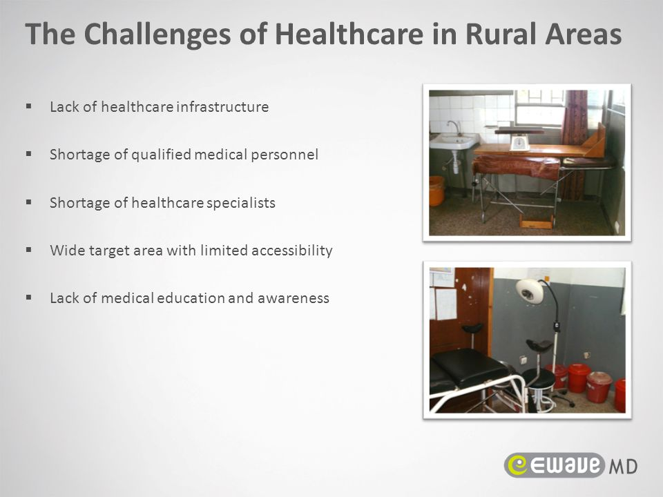 The Challenges of Healthcare in Rural Areas