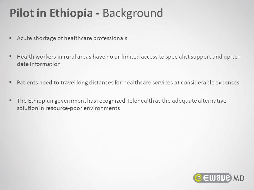 Pilot in Ethiopia - Background