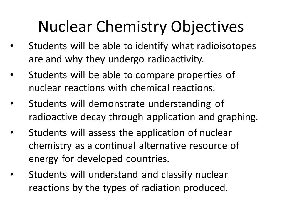 Nuclear Chemistry ppt download – Nuclear Chemistry Worksheet