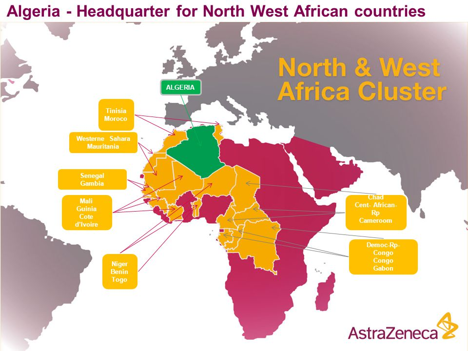 Algeria - Headquarter for North West African countries