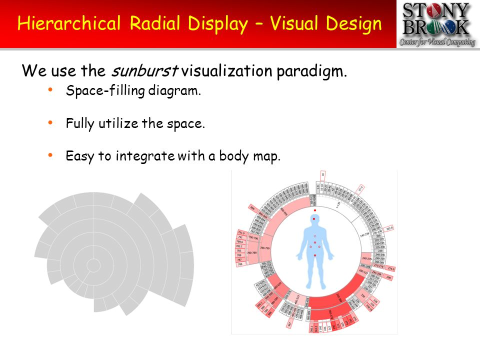 Hierarchical Radial Display – Visual Design