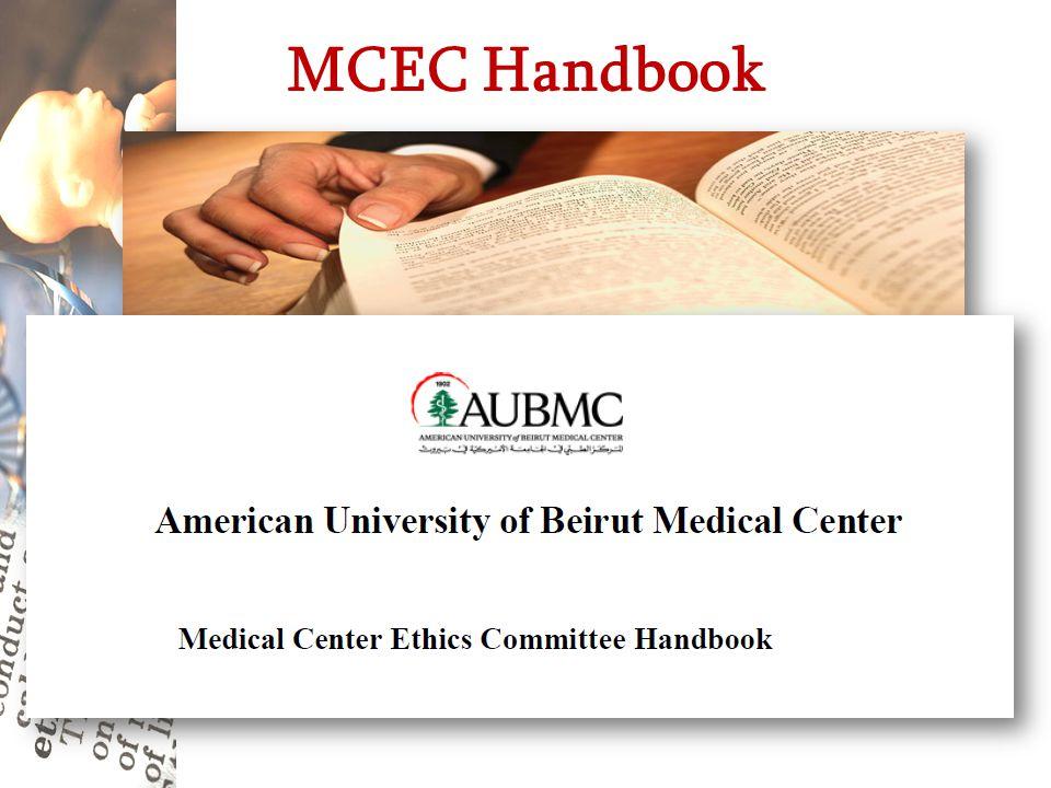 MCEC Handbook