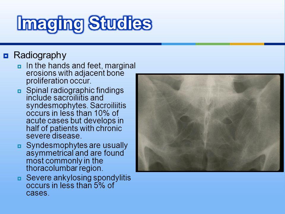 Imaging Studies Radiography