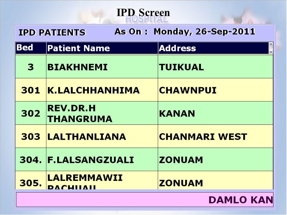IPD Screen
