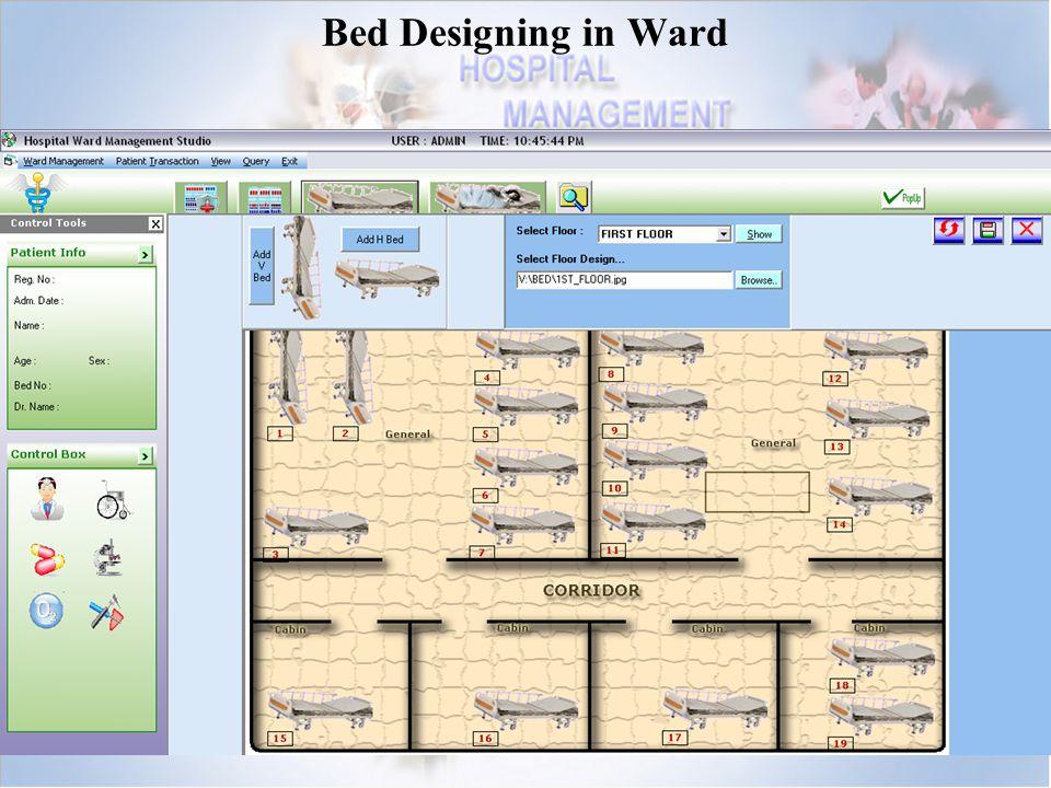 Bed Designing in Ward