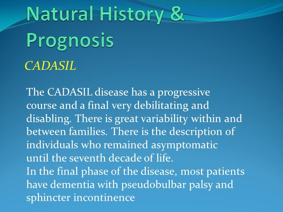 Natural History & Prognosis