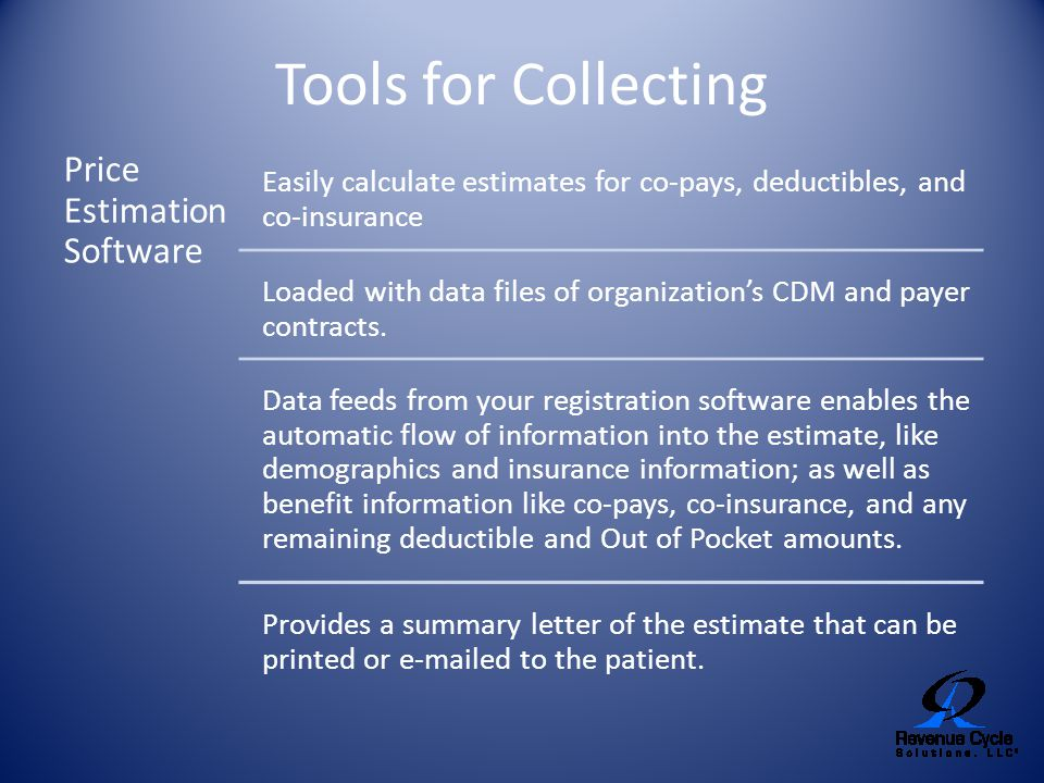 Tools for Collecting Price Estimation Software
