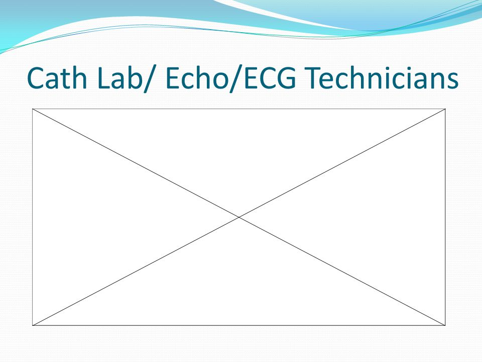 Cath Lab/ Echo/ECG Technicians
