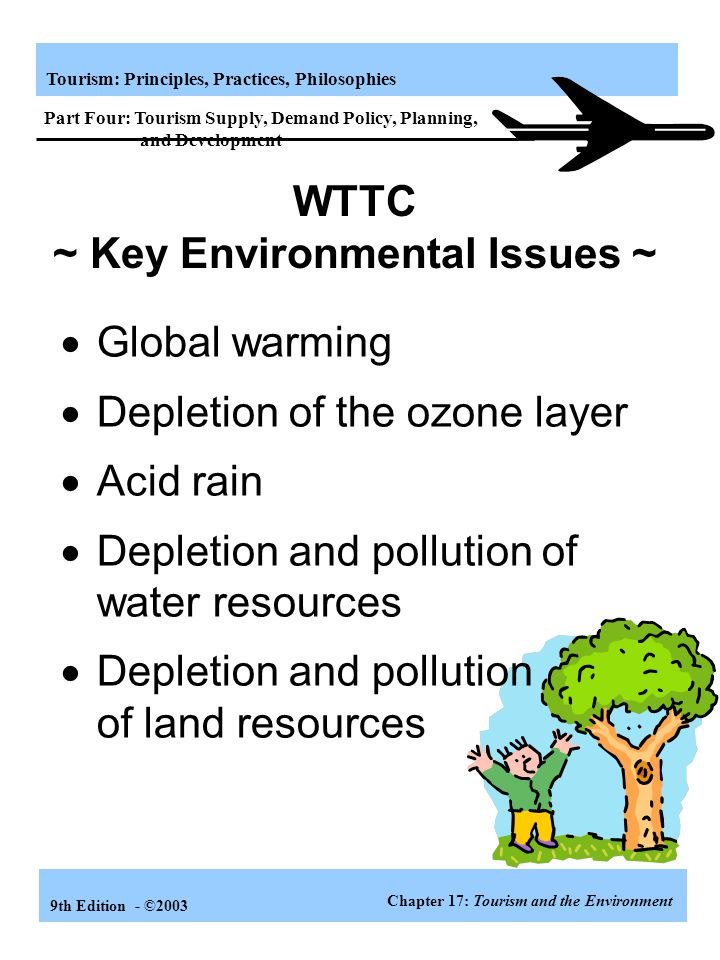 WTTC ~ Key Environmental Issues ~