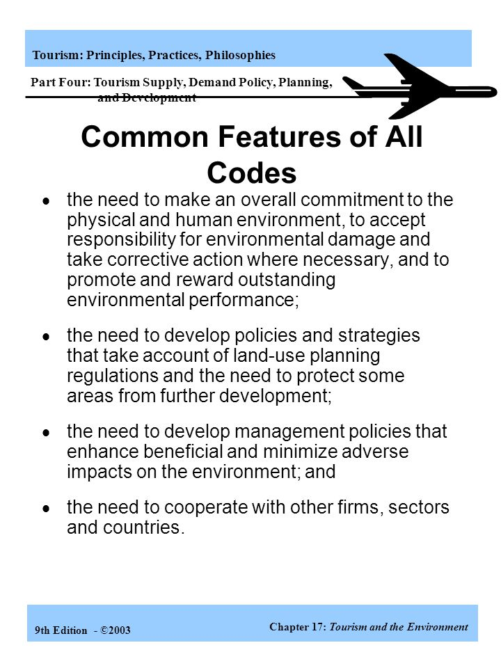 Common Features of All Codes