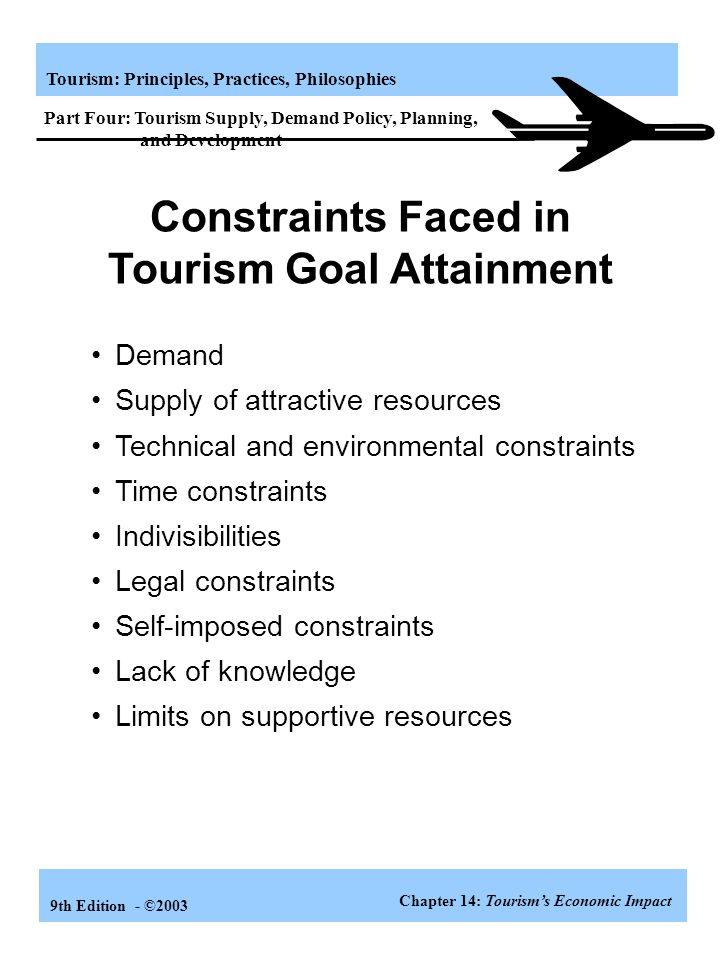 Tourism Goal Attainment