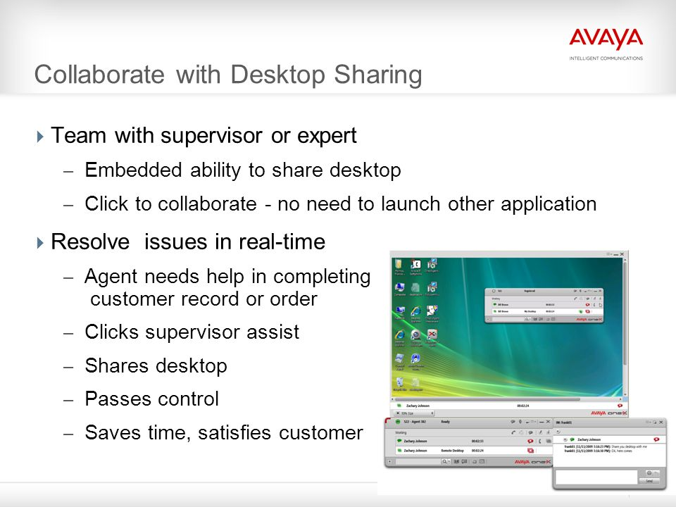 Collaborate with Desktop Sharing