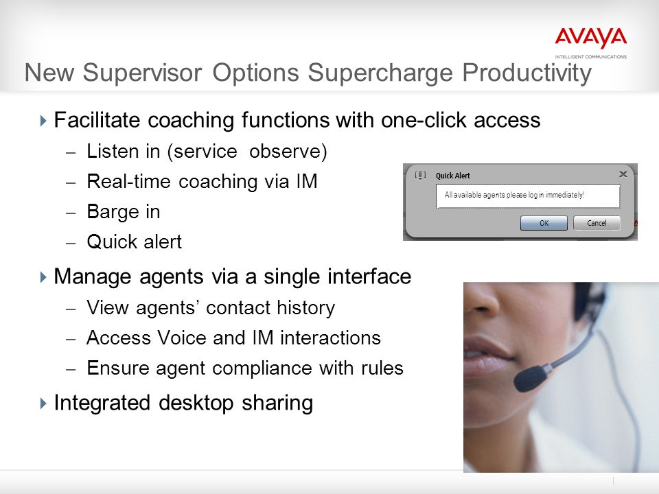 New Supervisor Options Supercharge Productivity