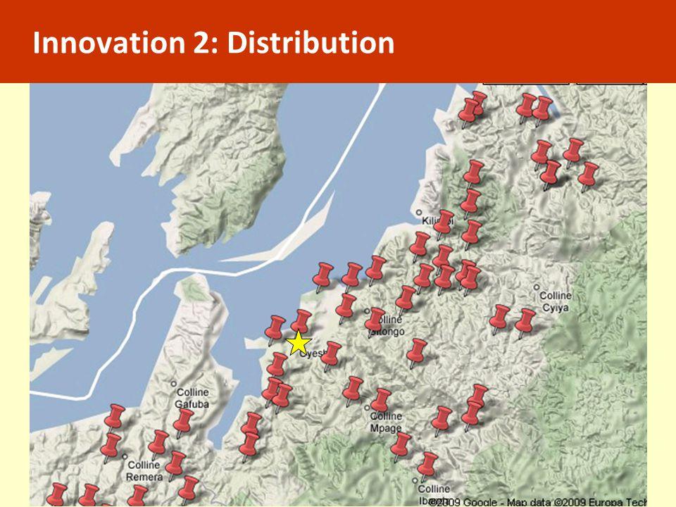 Innovation 2: Distribution