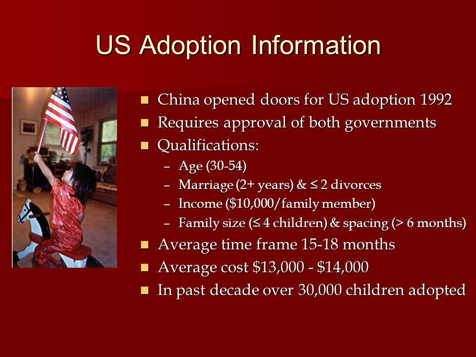 US Adoption Information