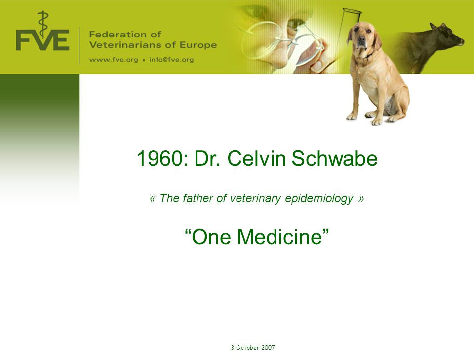 « The father of veterinary epidemiology »