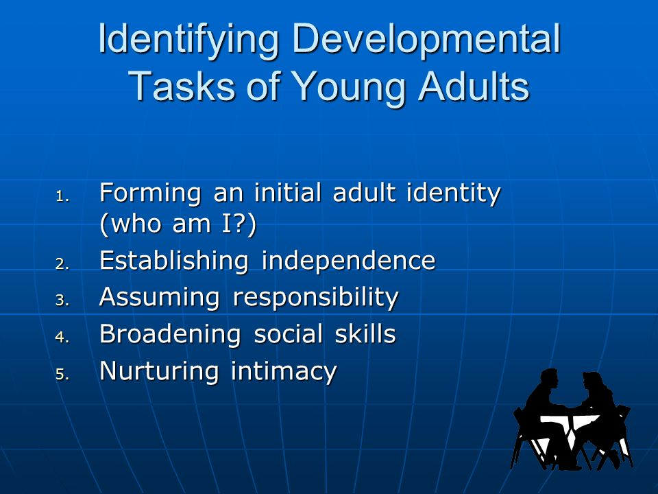 Identifying Developmental Tasks of Young Adults