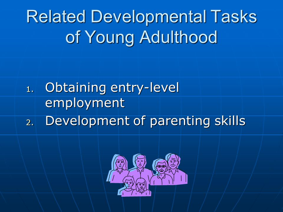 Related Developmental Tasks of Young Adulthood