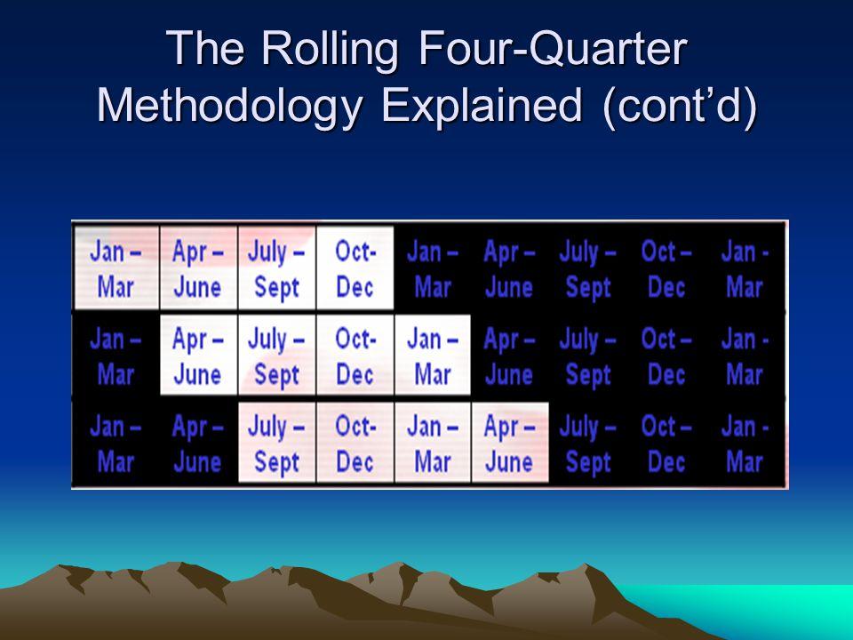 The Rolling Four-Quarter Methodology Explained (cont'd)
