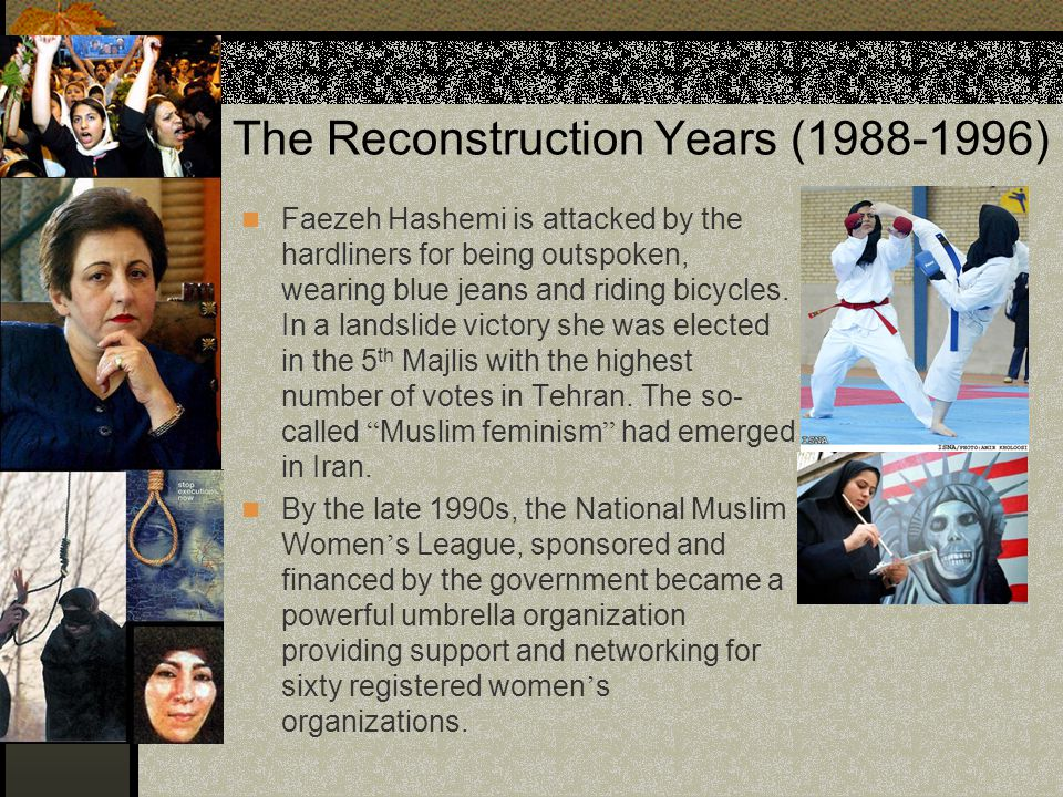 The Reconstruction Years (1988-1996)