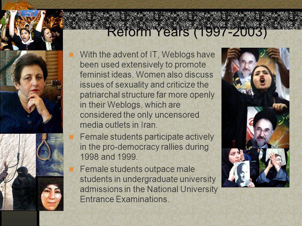 Reform Years (1997-2003)