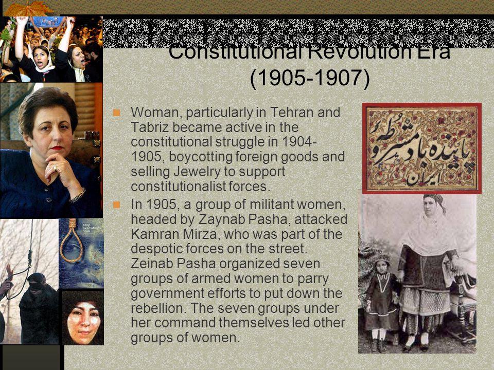 Constitutional Revolution Era (1905-1907)