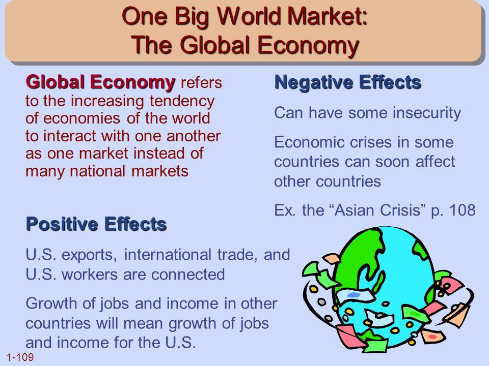 One Big World Market: The Global Economy