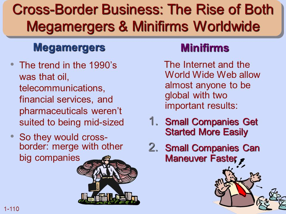 Cross-Border Business: The Rise of Both Megamergers & Minifirms Worldwide